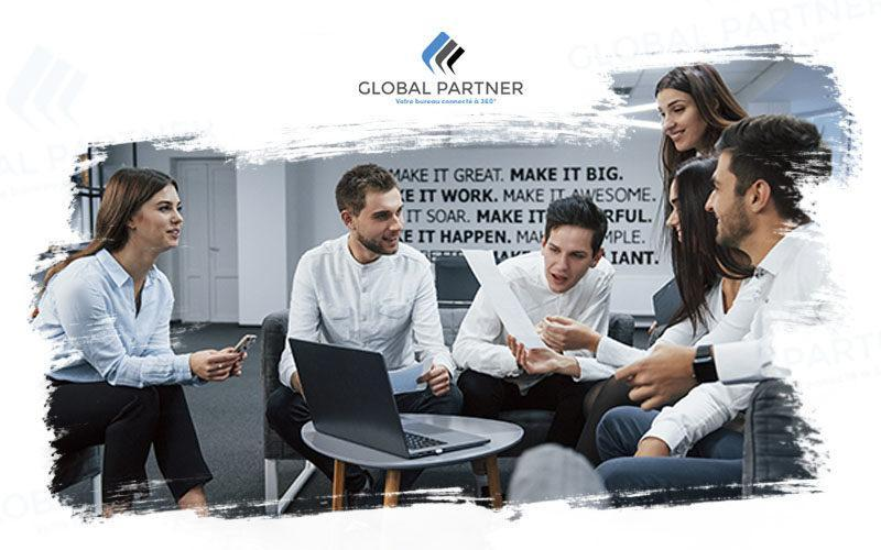 Photo d'une équipe Global Partner
