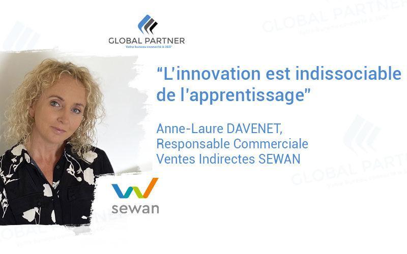 Photo de Anne Laure Davenet responsable commerciale ventes indirectes sewan chez Global Partner