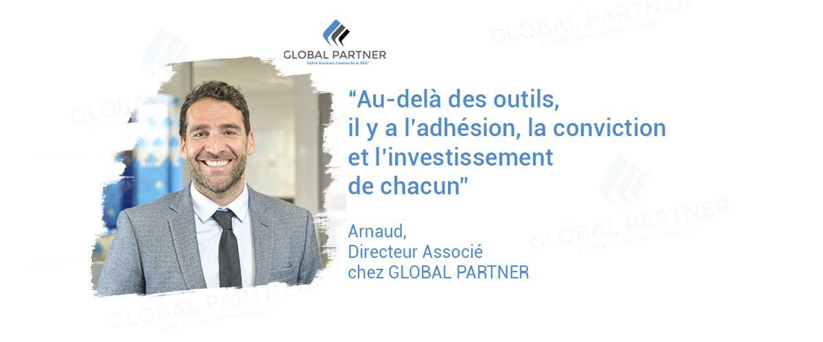Photo de Arnaud Directeur associé chez global partner