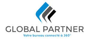 Logo avec la baseline de Global Partner