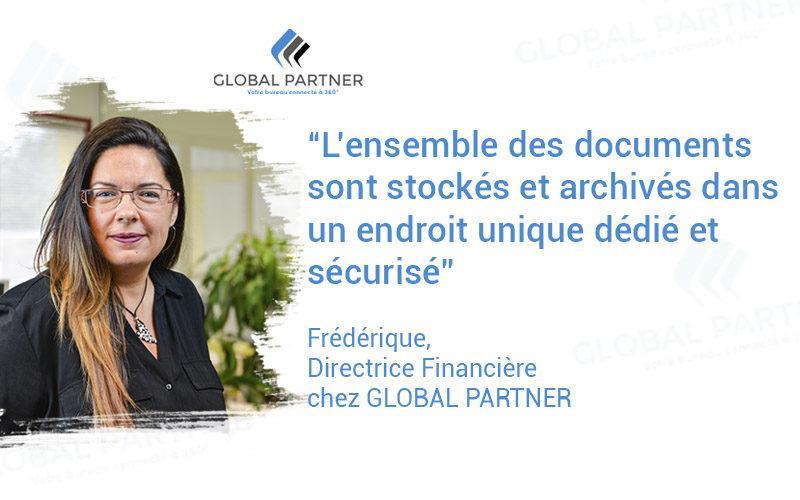 Photo de Frédéric Directrice Financière chez Global Parnter