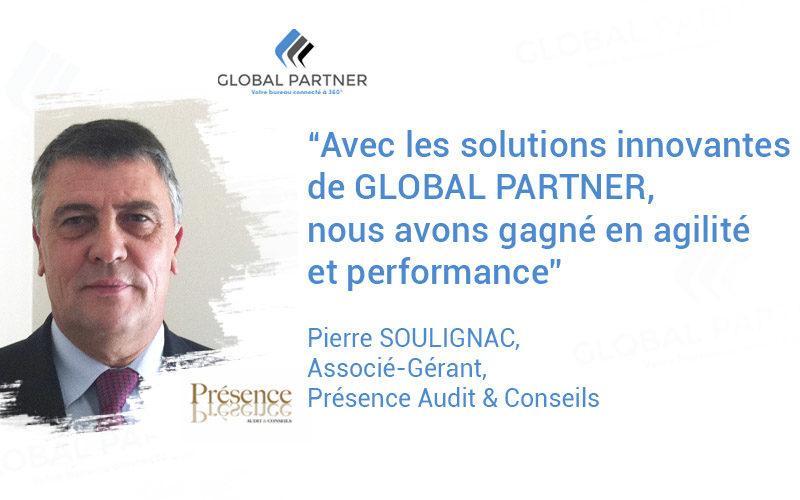 Photo de Pierre Soulignac Associé - Gérant Présence Audit et conseils un metier Global partner