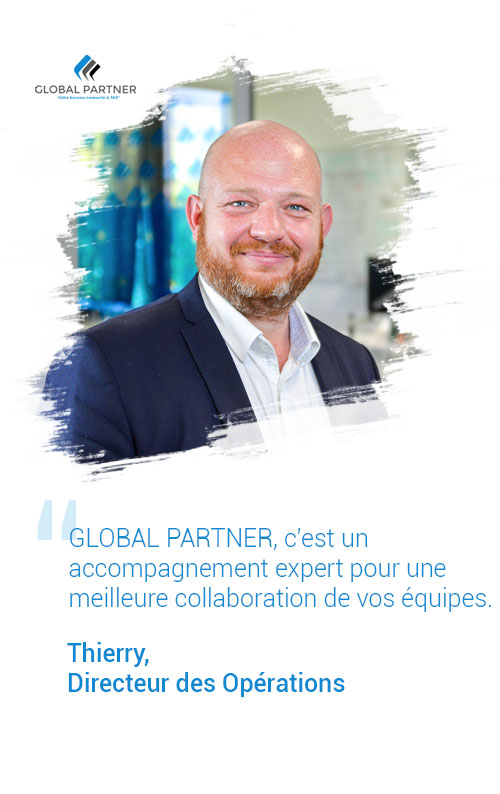 Photo de Thierry directeur des opérations, un metier global partner