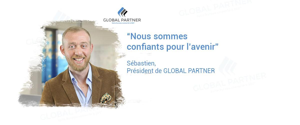 Photo de Sébastien président de Global Partner