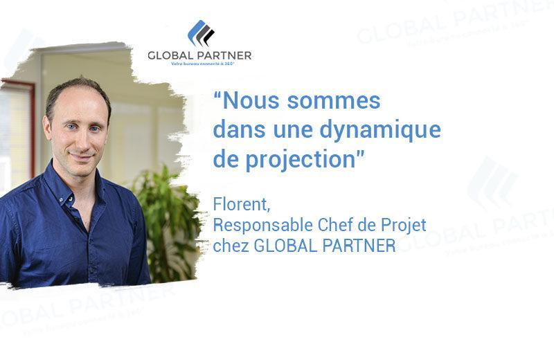 Photo de Florent responsable Chef de Projet chez Global Partner