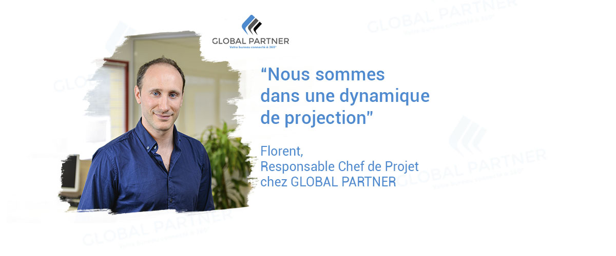 Photo de Florent responsable Chef de Projet chez Global Partner