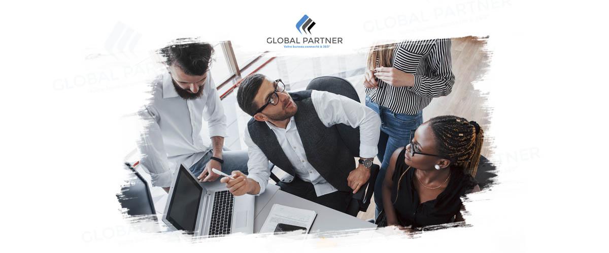 Photo réunion équipe Global Partner