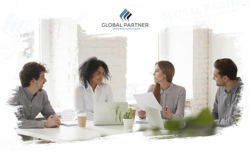 Photo environment de travail chez Global Partner